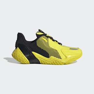 4UTURE Runner Shoes Core Black / Shock Yellow / Shock Yellow EG8335