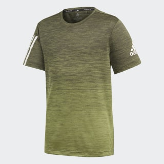 Gradient Tee Tech Olive / Legend Earth / White ED5749