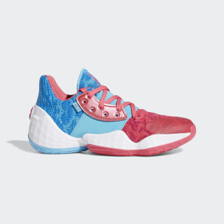 Harden Vol. 4 Shoes Real Pink / Bright Cyan / Cloud White EF2053