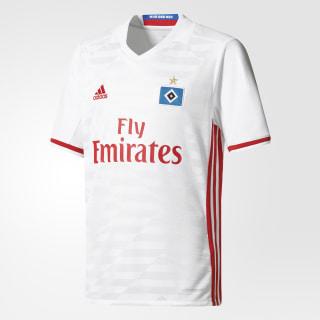 Hamburger SV Home Jersey White/Scarlet AH5286