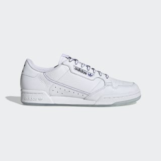 Tênis Continental 80 Cloud White / Core Black / Blue EG2846