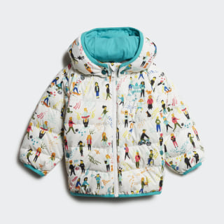 Jacket Multicolor / Hi-Res Aqua / White ED7703