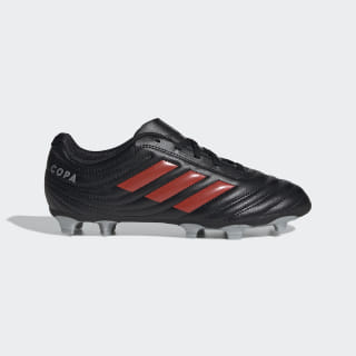 Calzado de Fútbol Copa 19.4 Terreno Firme Core Black / Hi-Res Red / Silver Metallic F35460