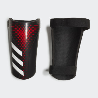 Canilleras Predator 20 Training Black / Active Red FL1390