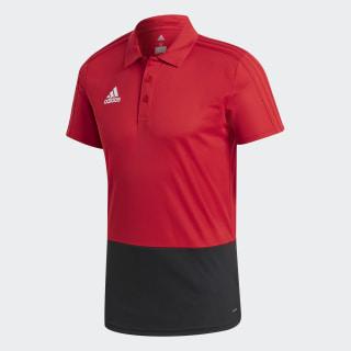 Camiseta CON18 POLO Power Red / Black / White CF3701