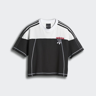 adidas Originals by AW Disjoin Crop Top Black / Core White DW8700