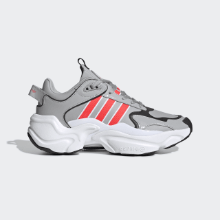 Magmur Runner Shoes Grey Two / Shock Red / Cloud White EF5087