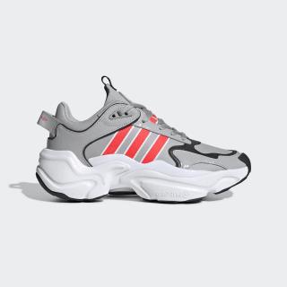 Tênis Magmur Runner Grey Two / Shock Red / Cloud White EF5087