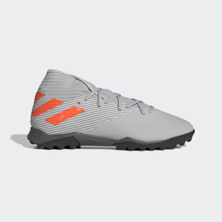 Nemeziz 19.3 Turf Shoes Grey Two / Solar Orange / Chalk White EF8291
