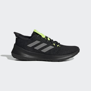 Runbounce+ Fade Shoes Core Black / Grey Three / Solar Yellow EE4032