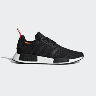 NMD_R1 Shoes Core Black / Core Black / Solar Orange B37621