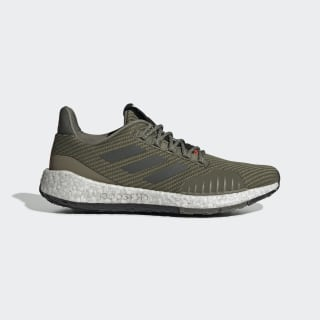 Pulseboost HD Winter Shoes Raw Khaki / Solar Red / Solar Red EF8903