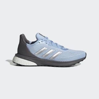 Tênis Astrarun Glow Blue / Silver Metallic / Grey EG5834