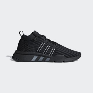 Tênis EQT Support Mid ADV Primeknit CORE BLACK/CARBON S18/SOLAR YELLOW B37456