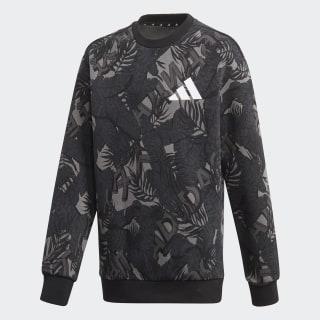 Sweat-shirt adidas Athletics Pack Crew Grey Four / Grey Six / Night Grey / Black FM4827
