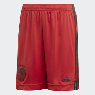 Germany Home Goalkeeper Shorts Glory Red EH6097