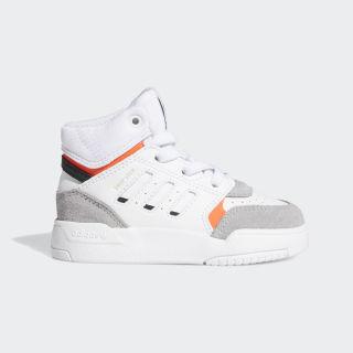 Высокие кроссовки Drop Step ftwr white / light granite / solar red EE8767