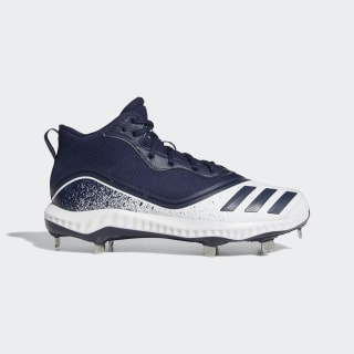 Icon V Bounce Mid Cleats Cloud White / Collegiate Navy / Collegiate Navy G28272