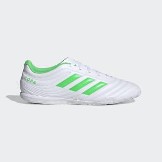 Calzado de Fútbol Copa 19.4 Bajo Techo ftwr white / solar lime / ftwr white D98075