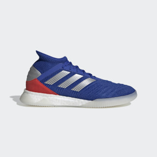 Chaussure Predator 19.1 Bold Blue / Cloud White / Active Red BB9081