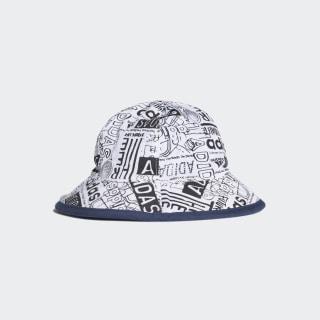 Cappellino Bucket Blue / Shock Cyan / White DW4774