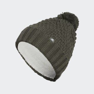 Fleece Lined Pompom Beanie Legend Earth DZ6598