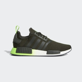 NMD_R1 Star Wars Shoes Legend Earth / Legend Earth / Solar Green FW3935