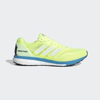 adizero Boston 7 Shoes Hi-Res Yellow / Cloud White / Shock Cyan EF7630