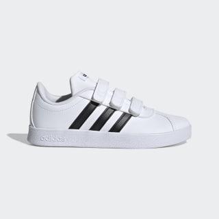 VL Court 2.0 Shoes Cloud White / Core Black / Cloud White DB1837