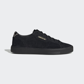Tênis adidas Sleek Core Black / Core Black / Tech Olive EE7104