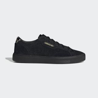 adidas Sleek Shoes Core Black / Core Black / Tech Olive EE7104