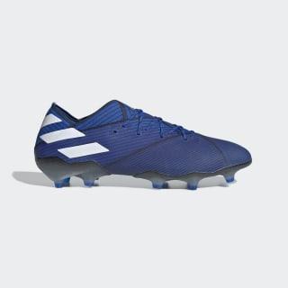 Bota de fútbol Nemeziz 19.1 césped natural seco Football Blue / Cloud White / Core Black F34410