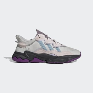 Кроссовки OZWEEGO grey one f17 / ash grey s18 / purple tint EF4050