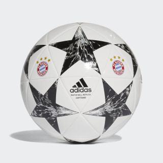 Balón Capitano Finale 17 FC Bayern Múnich WHITE/BLACK/CRYSTAL WHITE S16/CINDER GREY BS3470