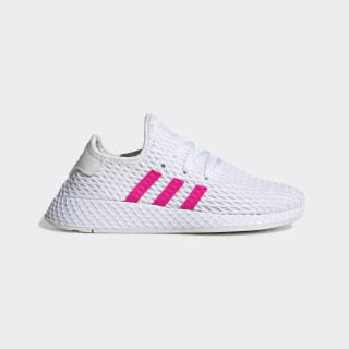 Кроссовки Deerupt Runner ftwr white / shock pink / core black EE8917