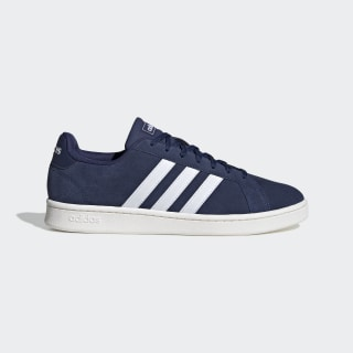 Grand Court Shoes Dark Blue / Cloud White / Running White F36410