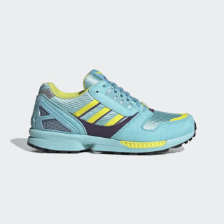 Tênis ZX 8000 Clear Aqua / Light Aqua / Shock Yellow EG8784