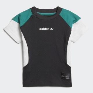 Camiseta EQT BLACK/WHITE/SUB GREEN D98782