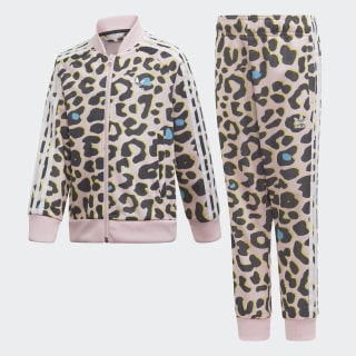 Pants Con Sudadera Lz Sst Clear Pink / White / Black FM9993
