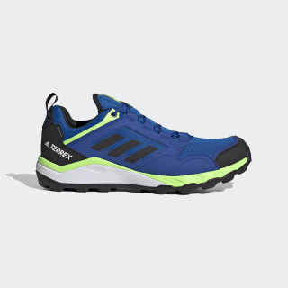 Chaussure Terrex Agravic TR GORE-TEX Trail Running Glory Blue / Core Black / Signal Green EF6871