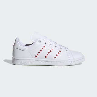 Stan Smith Shoes Cloud White / Cloud White / Lush Red EG6495