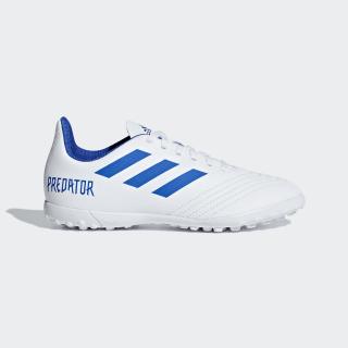 Calzado de Fútbol Predator Tango 19.4 Pasto Sintético ftwr white / bold blue / ftwr white CM8558