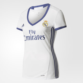 Real Madrid Home Jersey Crystal White/Raw Purple AI5188