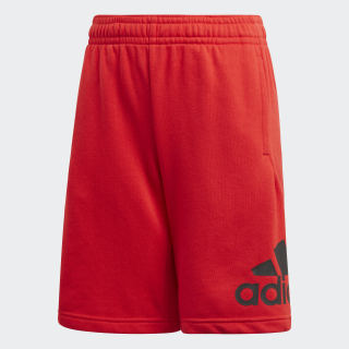 Must Haves Badge of Sport Shorts Vivid Red / Black FM6457