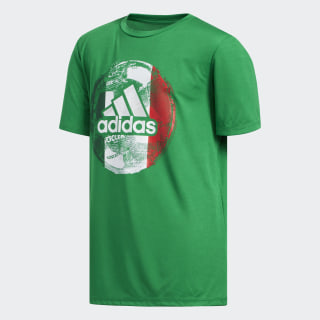 Soccer Tee Medium Green CK1216