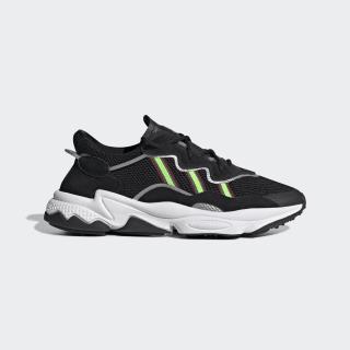 Кроссовки OZWEEGO core black / solar green / onix EE7002