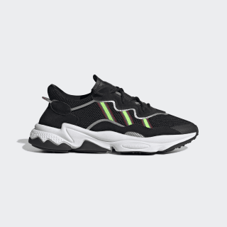 Zapatillas OZWEEGO core black/solar green/onix EE7002