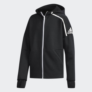 Bluza z kapturem adidas Z.N.E. Fast Release Zne Htr/Black / White DJ1835