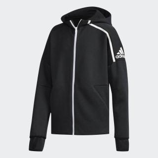 adidas Z.N.E. Fast Release Hoodie Zne Htr / Black / White DJ1835