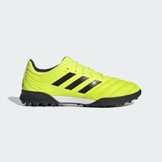 Футбольные бутсы Copa 19.3 TF solar yellow / core black / solar yellow F35507